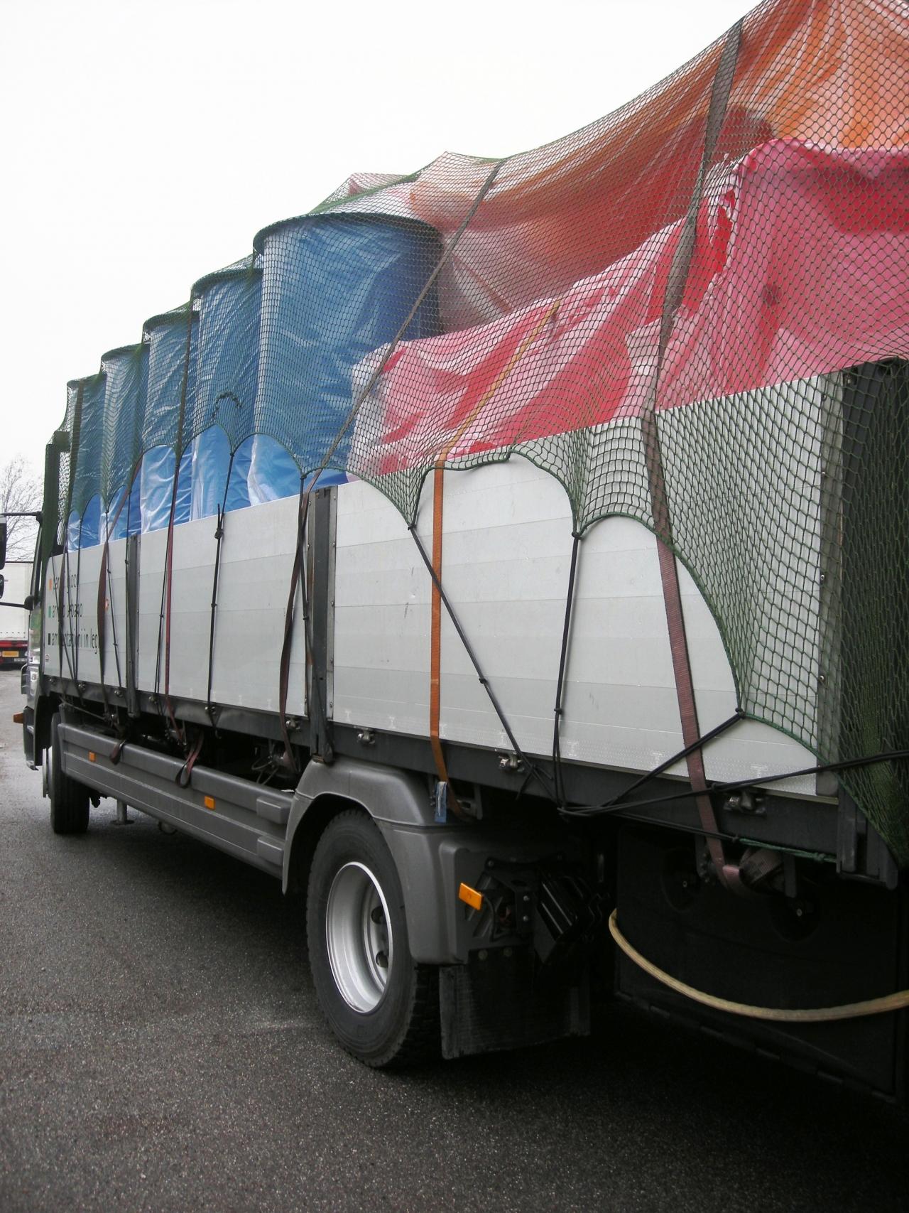 Reti copertura camion