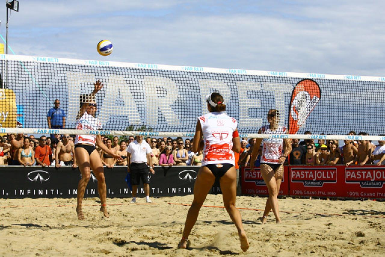 Reti beach volley stampate