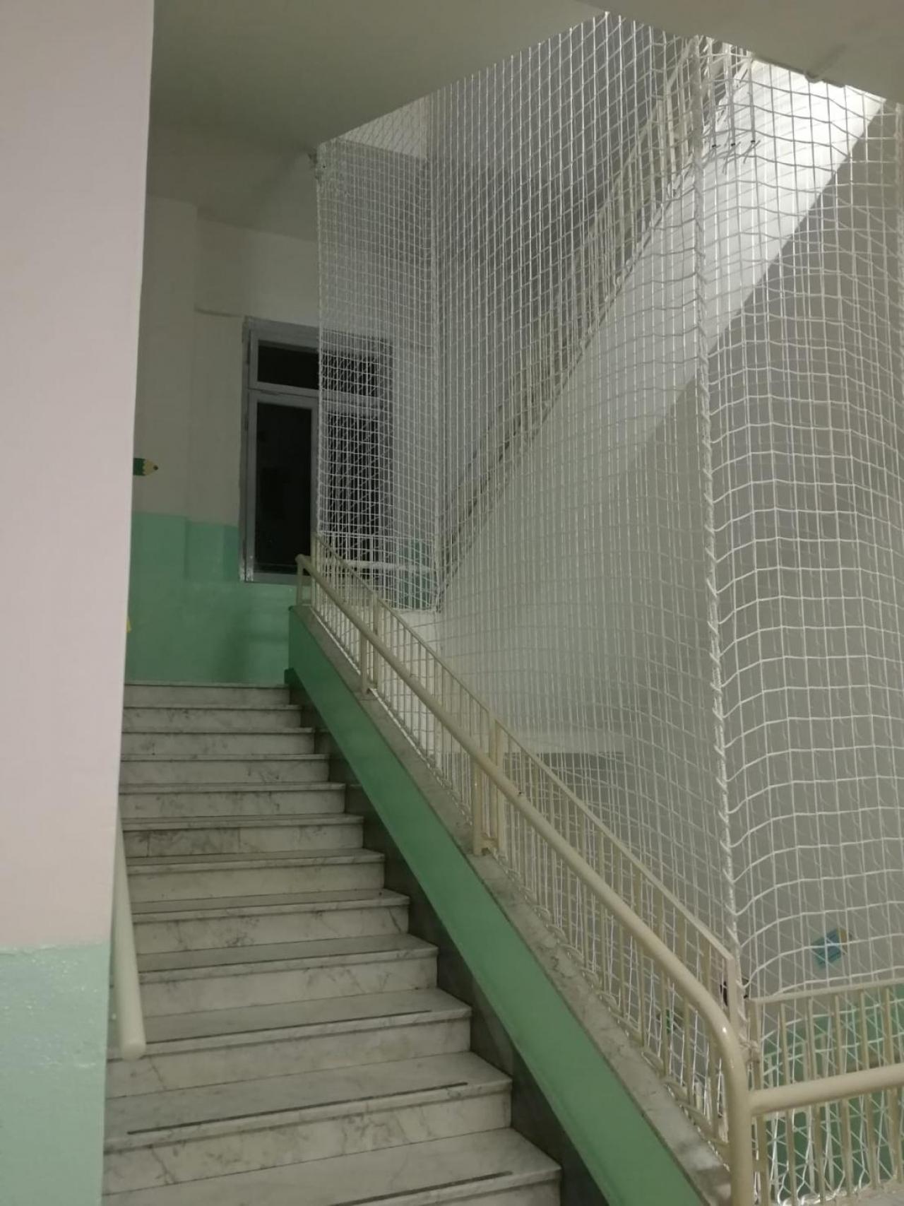 Rete protezione vano scale