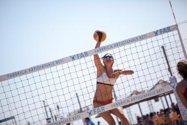 Netze Beach-Volleyball, Strandtennis und Strandfußball