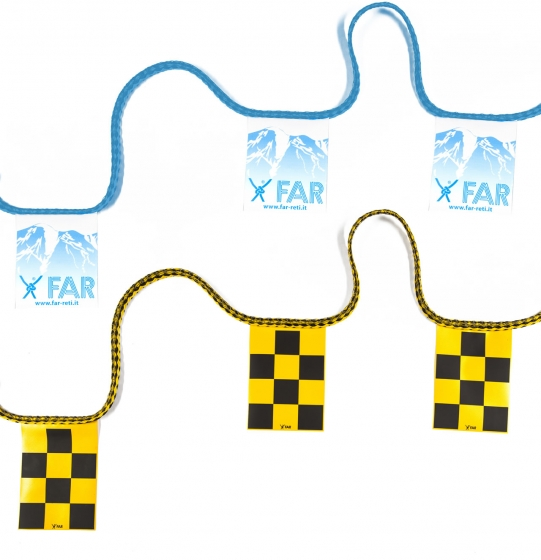 CUSTOMIZED WARNING PENNANTS CORDS
