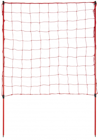 """C"" TYPE DELIMITATION NET WITH POLES"