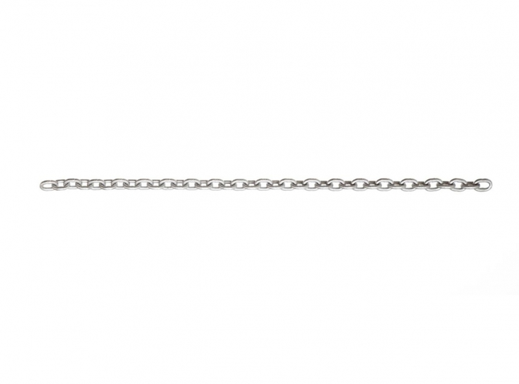 Fire galvanized chain