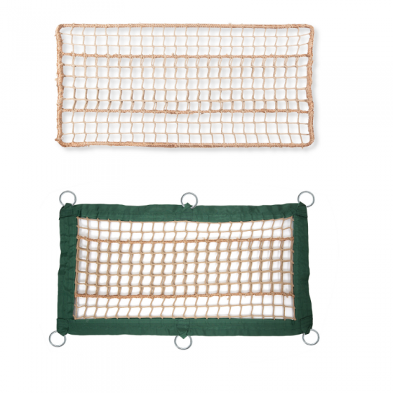 Beige net for adventure parks