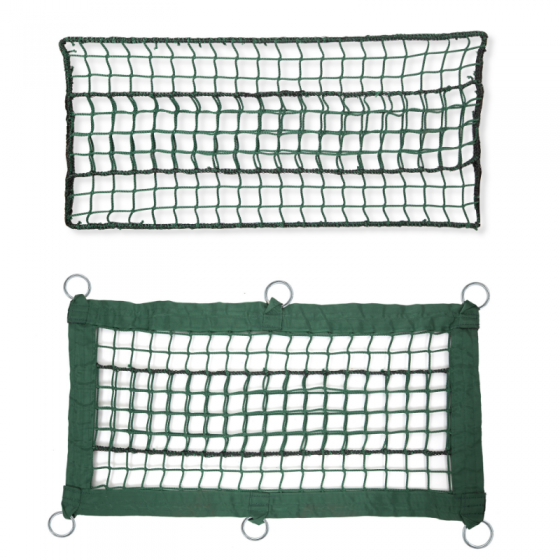 Green net for adventure parks