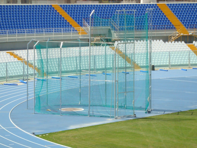 Athletic cage protection nets