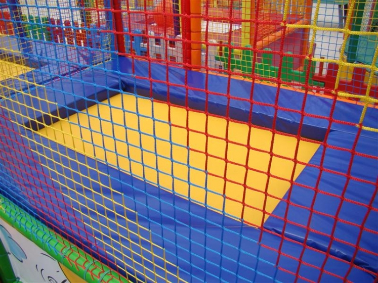 Trampolines and playground nets