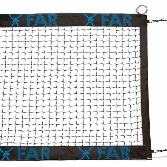 "BEACH TENNIS NET ""EXTRA"" WITH PVC BANDS 100 MM, PRINTED"