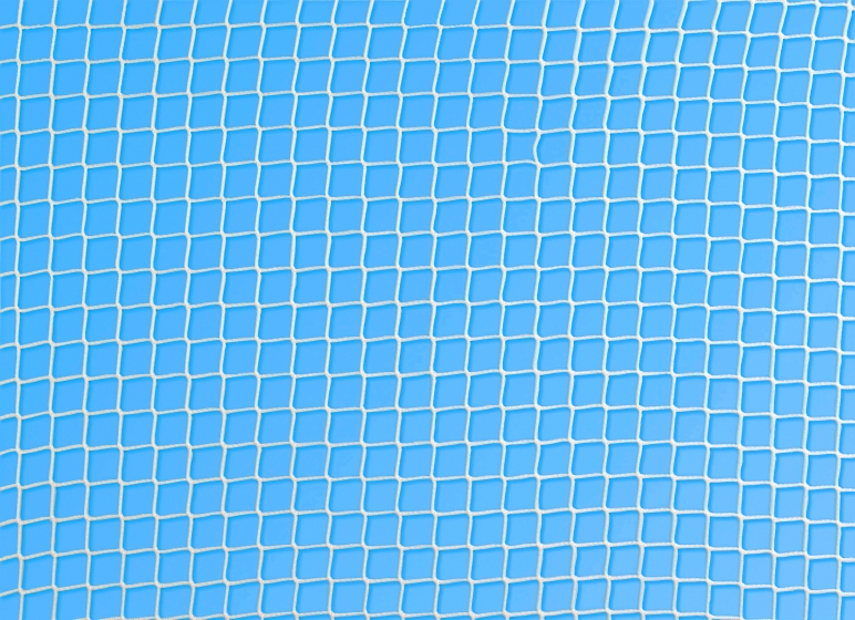 Protective netting for squash courts, mesh 20mm