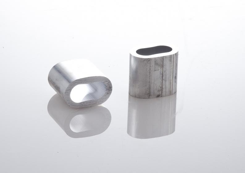 Manicotti in alluminio per lavorazioni ad asola