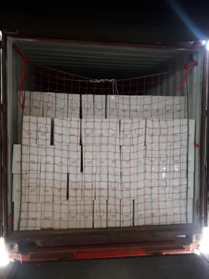 Container cargo nets
