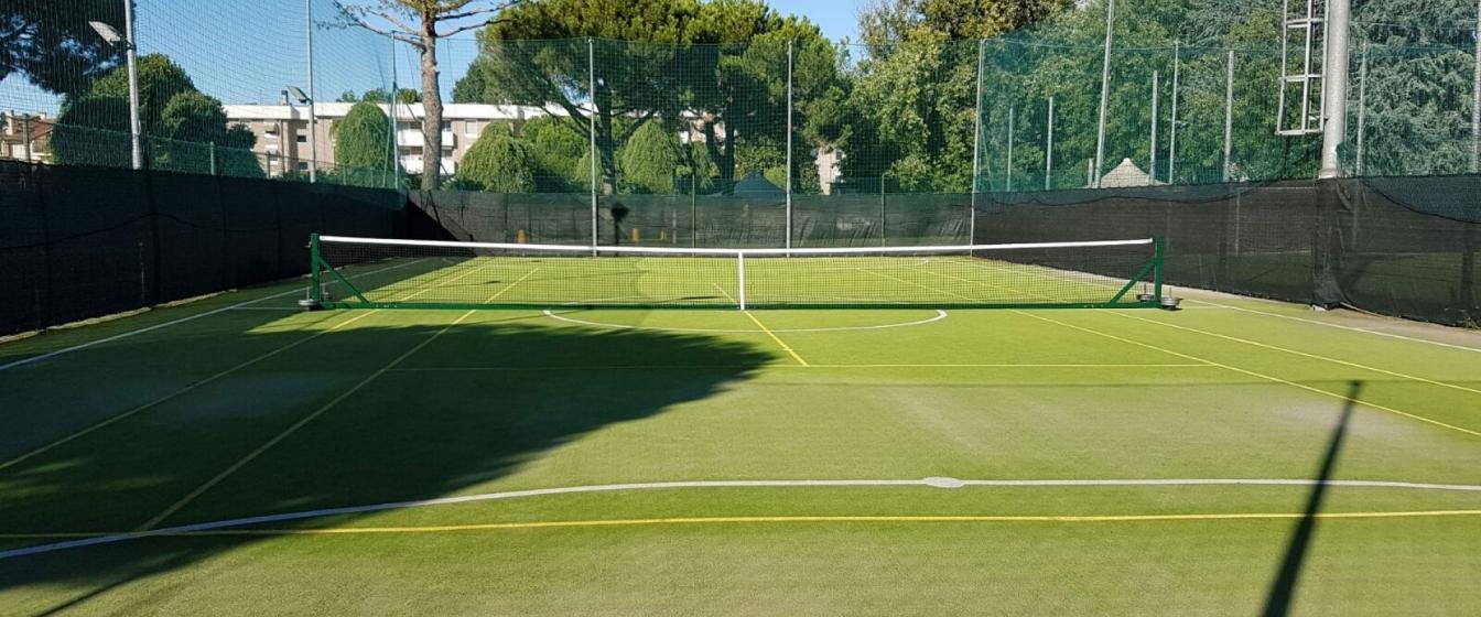 Reti da tennis produzione