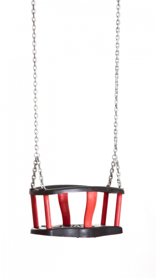 Basket swing seat model «Forte», with chain