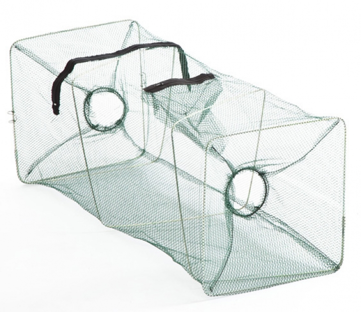 Fish trap with two entries, mesh 45mm