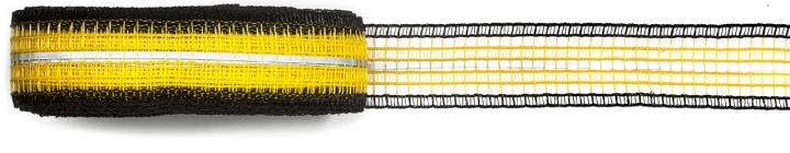 33010007 Strip con catarifrangente altezza cm 15 colore giallo e nero