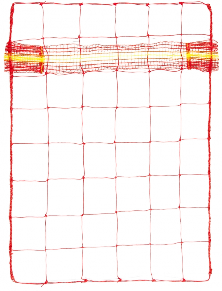DELIMITATION NET WITH BARRIER FENCE