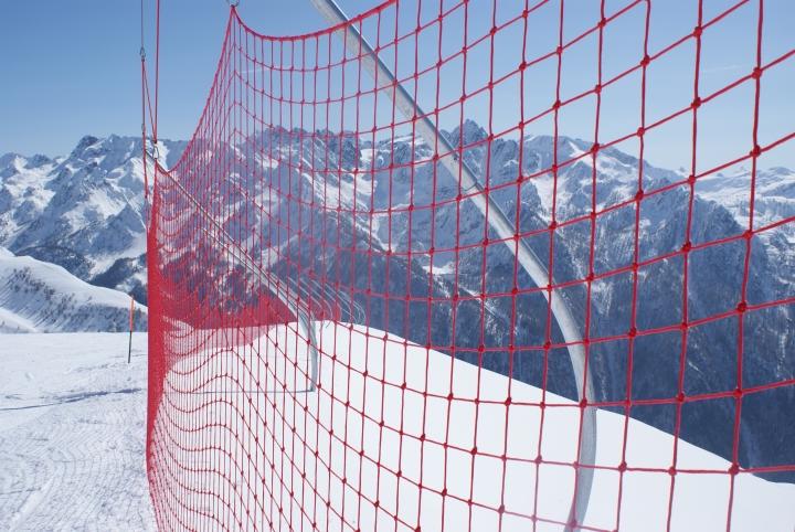 Reti protezione piste sci