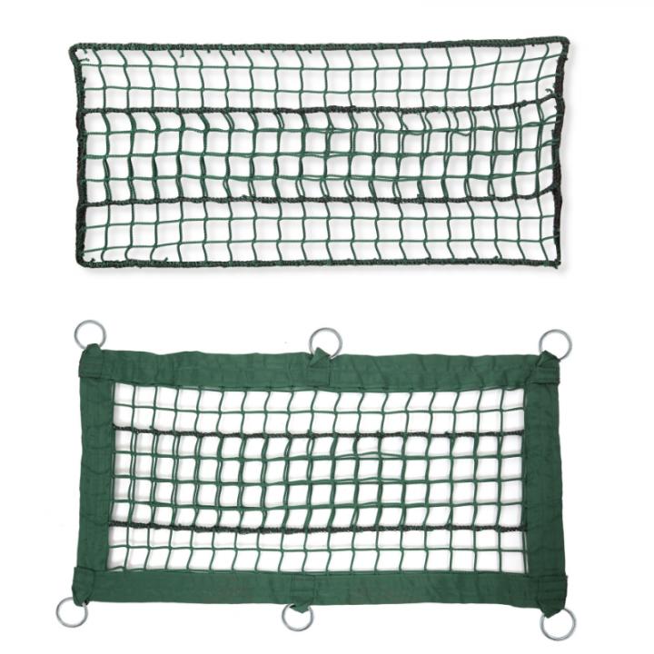 Green net for adventure parks