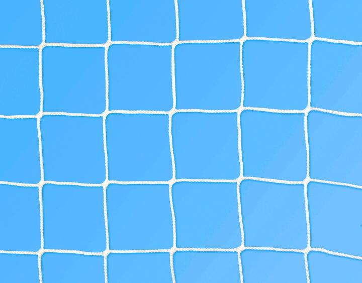 Rete calcio ridotte 5x2 m Ø 3 mm maglia 130 mm