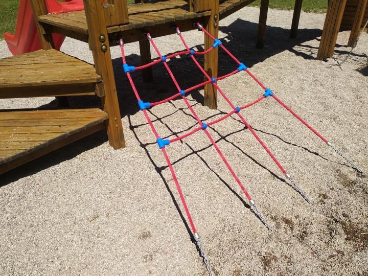 Rete trapezoidale per torrette