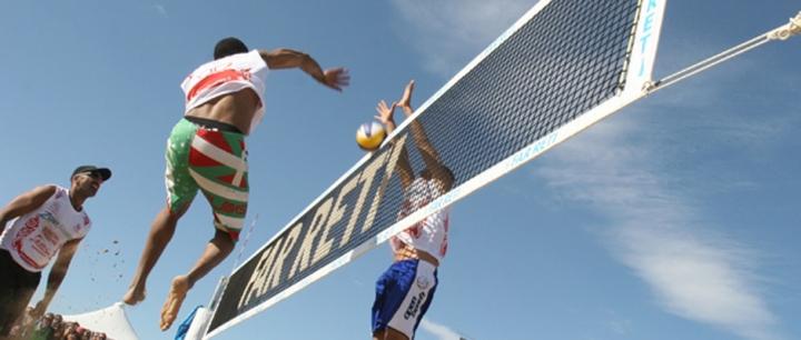 Reti beach volley con stampa personalizzata