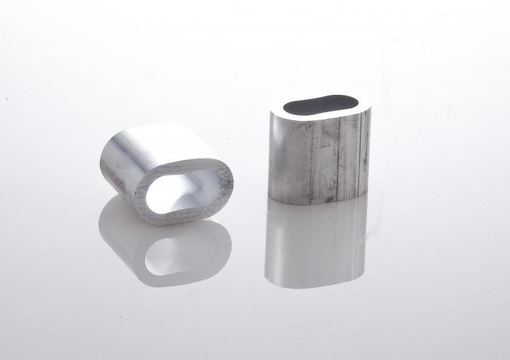 Aluminum sleeve for slot machining