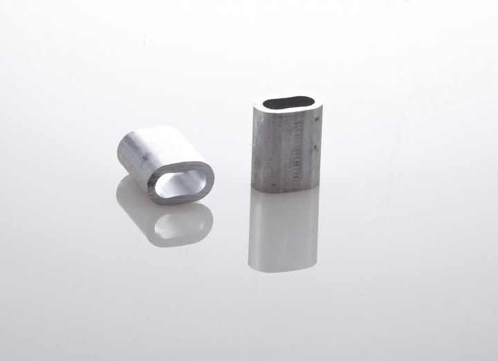 manicotti alluminio per asole cavo 10 mm