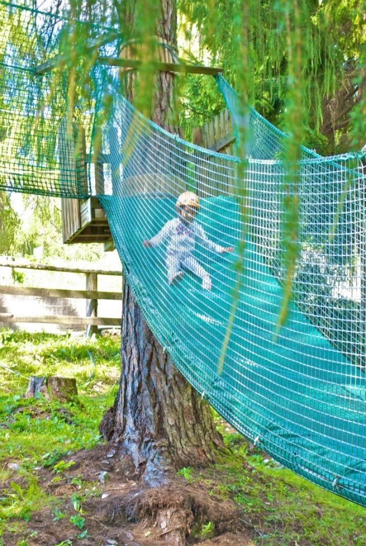 Slide for adventure parks