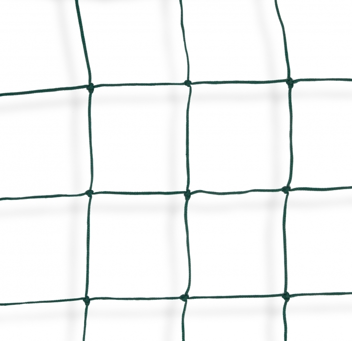 Fencing net for five-a-side soccer and soccer fields