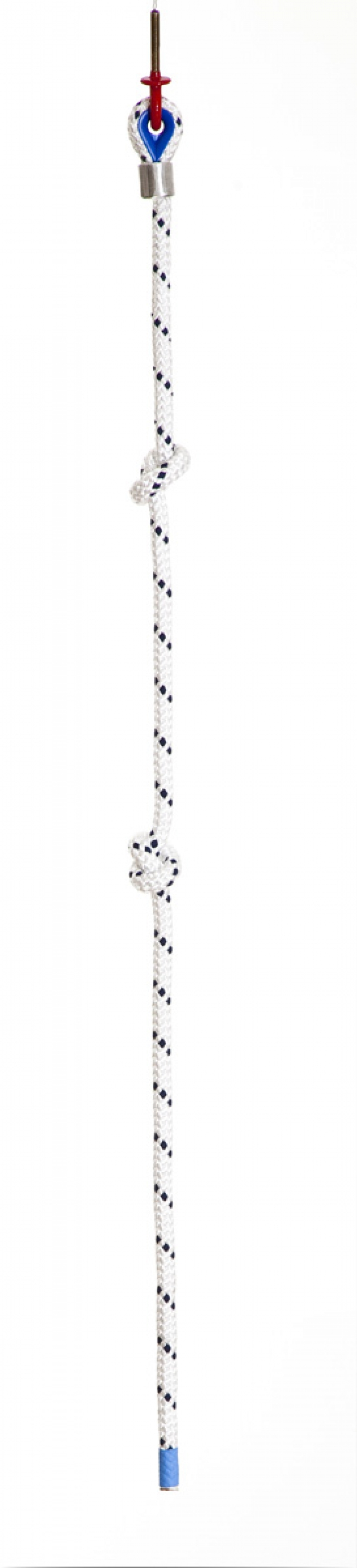 Polyester climbing rope