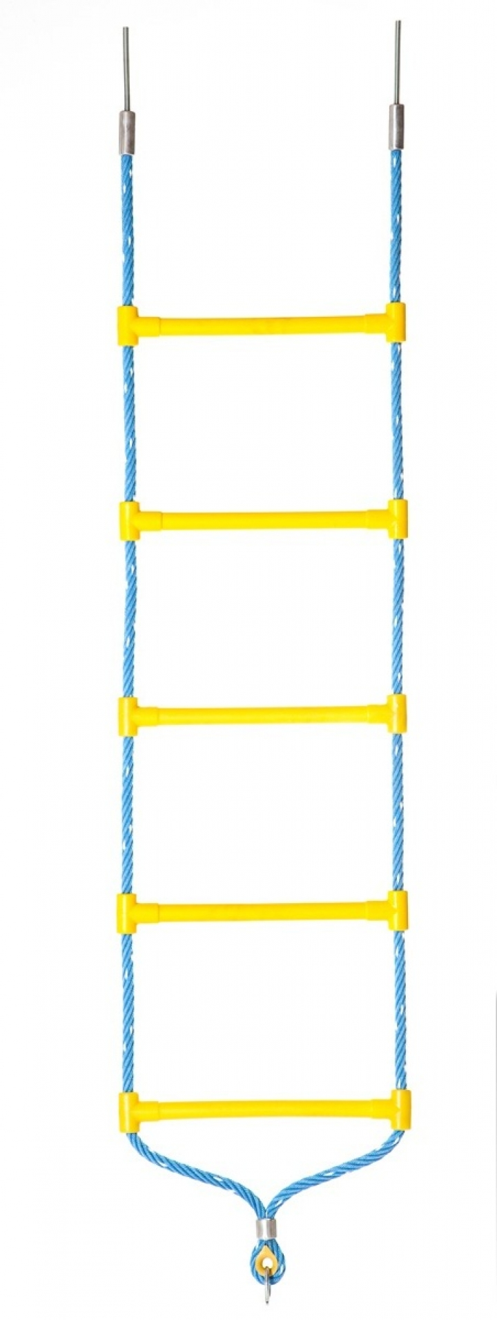 Climbing stair with Erkules rope, fastening ring