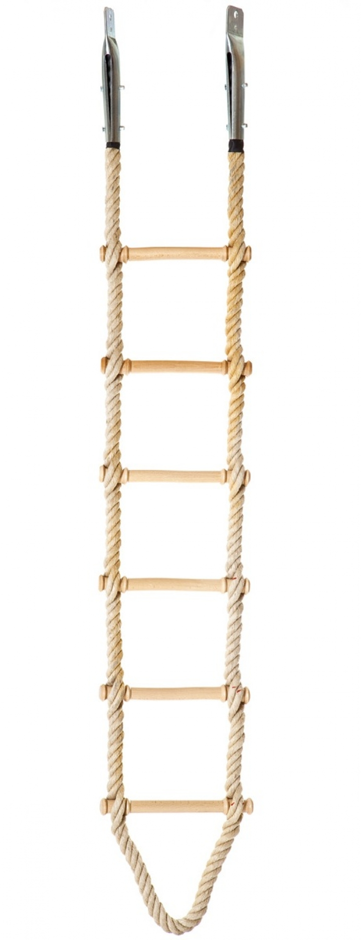 Climbing stair with jute rope