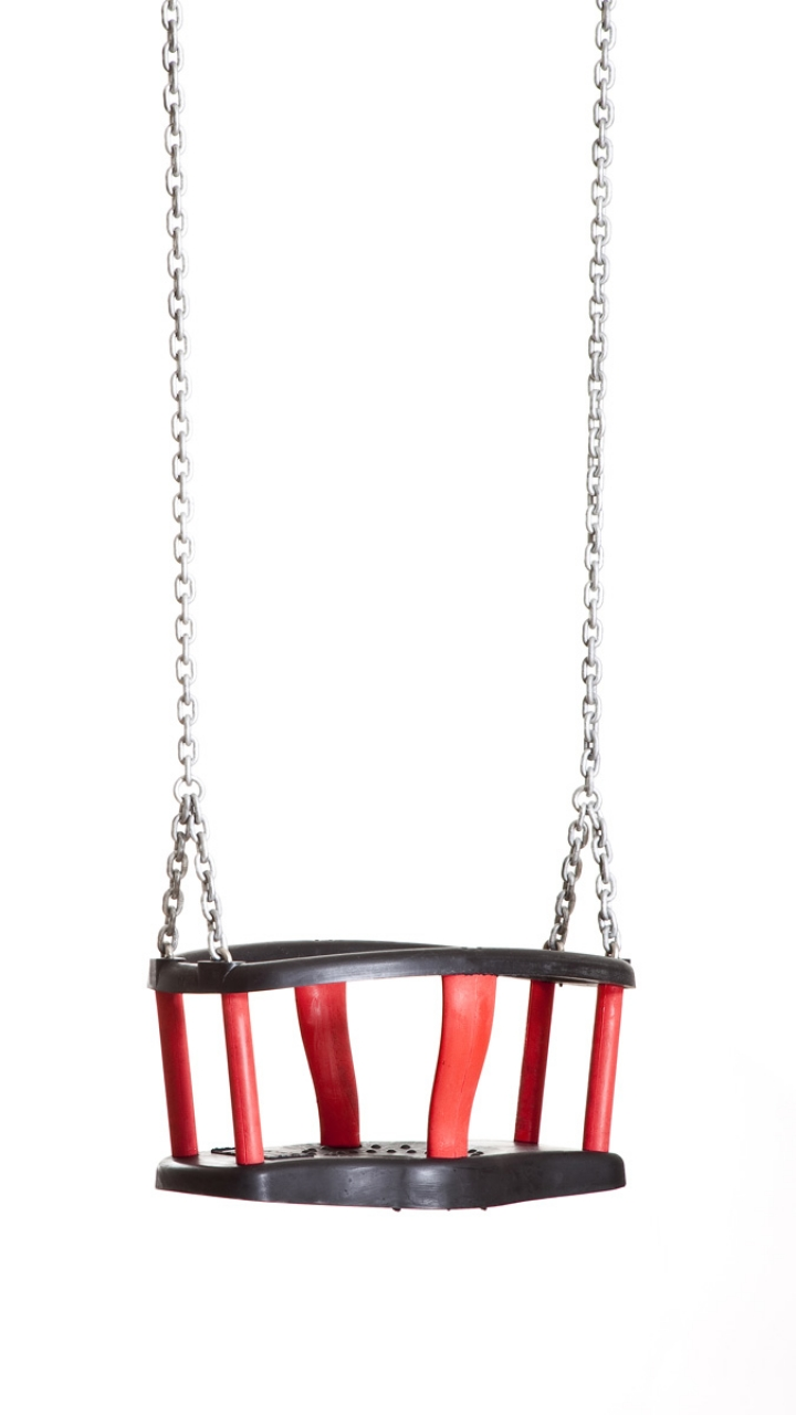 Seggiolino per altalena a cestello modello «Forte», con catena