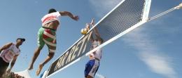"""Rete beach volley """"Extra"""" stampata"""